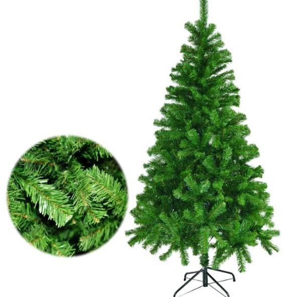 XD8013 8FT VINYL XMAS TREE W METAL FOOTING