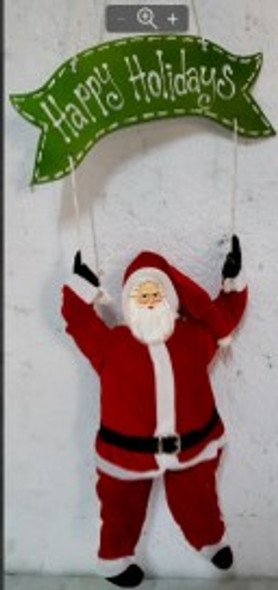 Hanging Wood Banner- Small Merry chirstmas-1