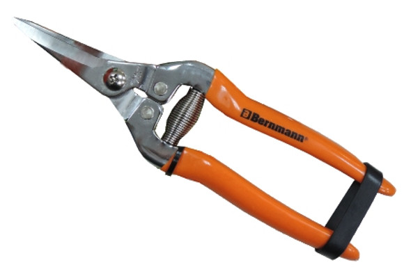 BERNMANN B-3704C TRIMMING PRUNING SHEAR CURVED