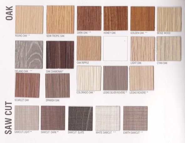 Multi Form Laminates 4x8ft Sawcut and Oak Series
