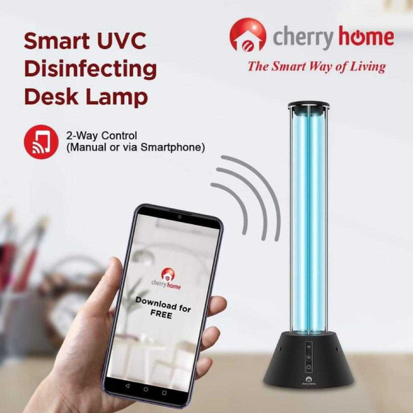 CHERRY CH-UVL36W SMART DISINFECTING DESK LAMP
