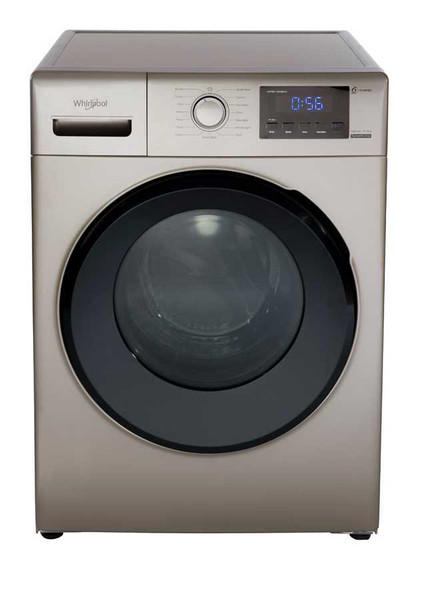 WHIRLPOOL Front Load Washing Machine 8.5kg WFRB852BHG with Free Fujidenzo Wd102B Water Dispenser