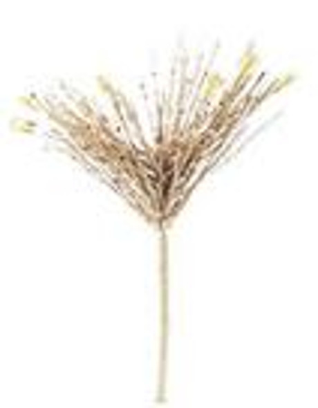 SEM4371C2 GLIT. ONION GRASS W/ ACRYLIC BEADS-222/9