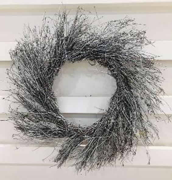 JHF1810-081 LFG34100-16 White Twigs Wreath