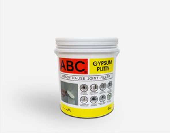 GYPSUM PUTTY MULTI PURPOSE JOINT FILLER PRE-MIXED 5KG