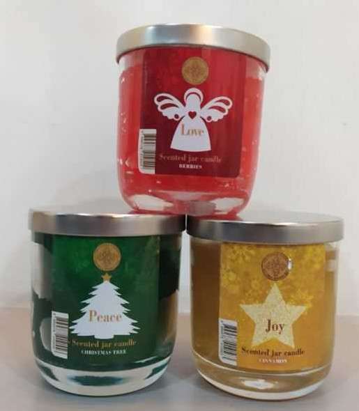 JCB Jar Candle, Berries