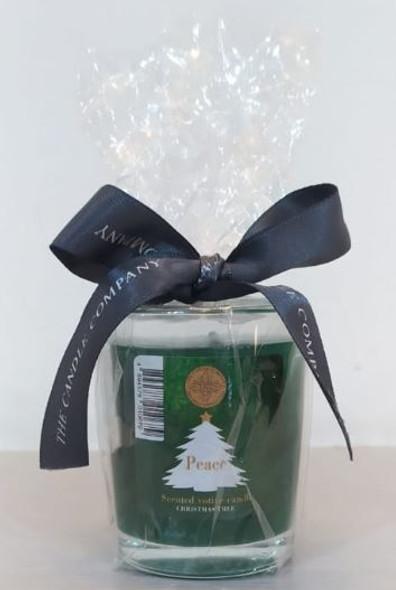 Votive Candle Christmas Tree