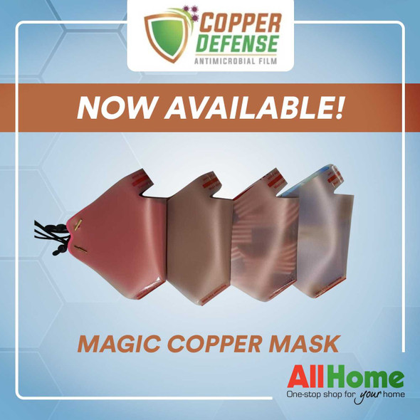 COPPER DEFENSE ANTI MICROBIAL MAGIC COPPER MASK