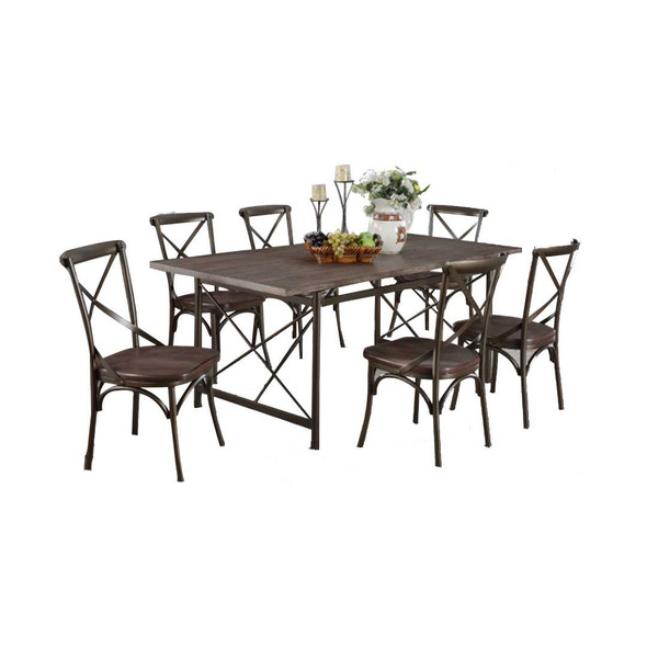 LOUISE 6 SEATER DINING SET