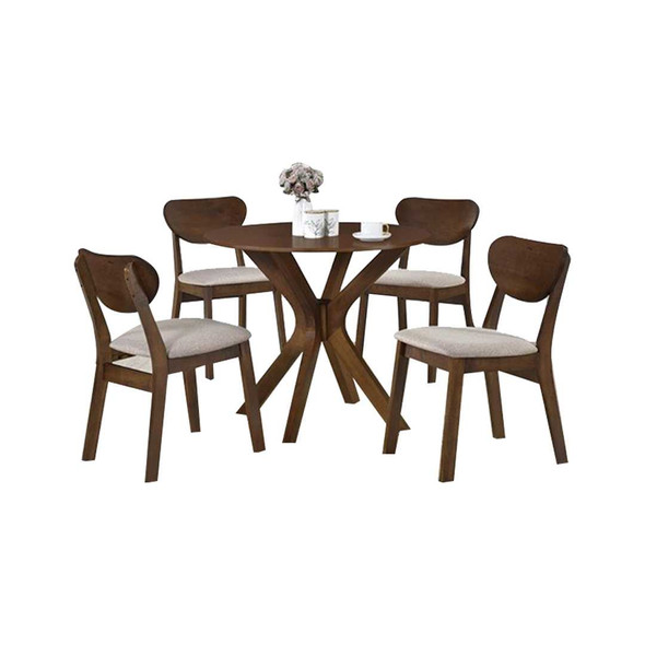 PRISCILA 4 SEATER DINING SET