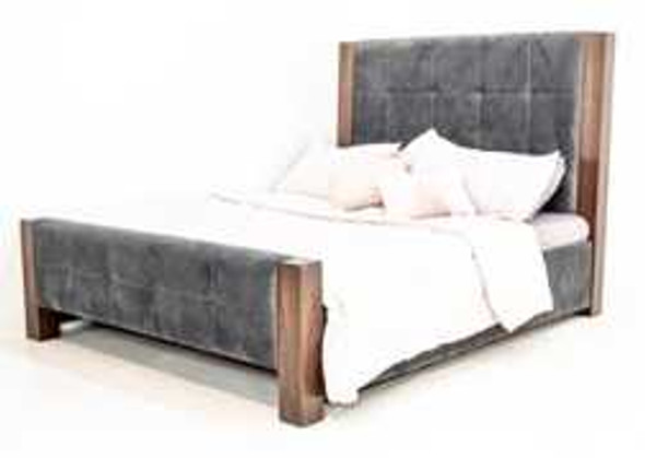 NOLAN I TEDDY UPHOLSTERED QUEEN BEDFRAME