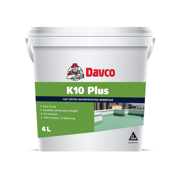 K10 PU + GREY WATER PROOFING 4 KG
