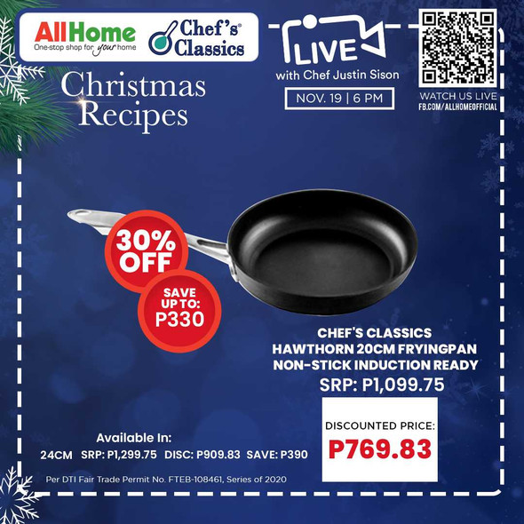 Chef's Classics Hawthorn 20cm Fryingpan Non-Stick induction Ready