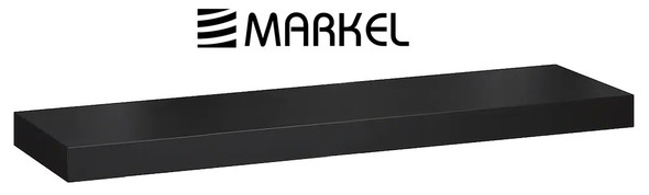 MARKEL WOODEN LEDGE MEDIUM BLACK 800X200X25 MM