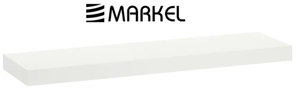 MARKEL WOODEN LEDGE MEDIUM WHITE 800X200X25MM