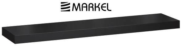 MARKEL WOODEN SHELF LARGE BLACK 1200X200X25MM
