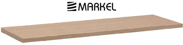 MARKEL WOODEN SHELF LARGE VENEER 1200X200X25MM