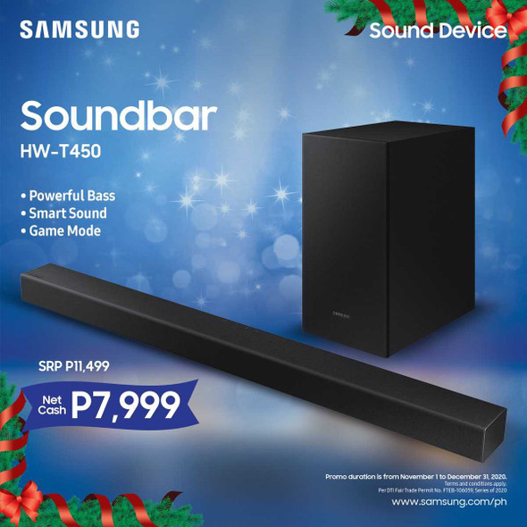 SAMSUNG HW-T450 SOUND BAR