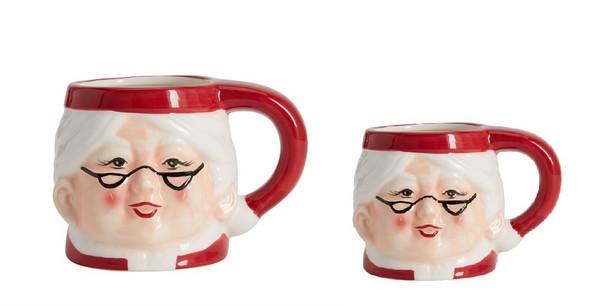 RHM1906-007 18001 Ceramic Mrs Santa Mug 160z