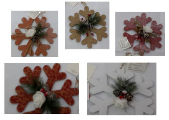 RHM1707-146 5Design Corrugated Snowflakes