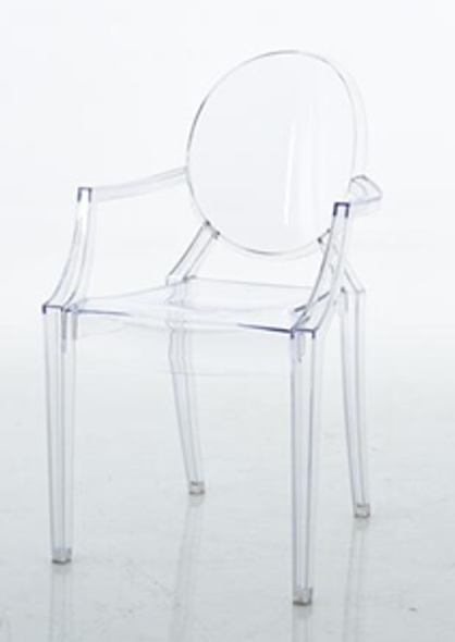 SNOW CLEAR CHAIR FOR ADULT