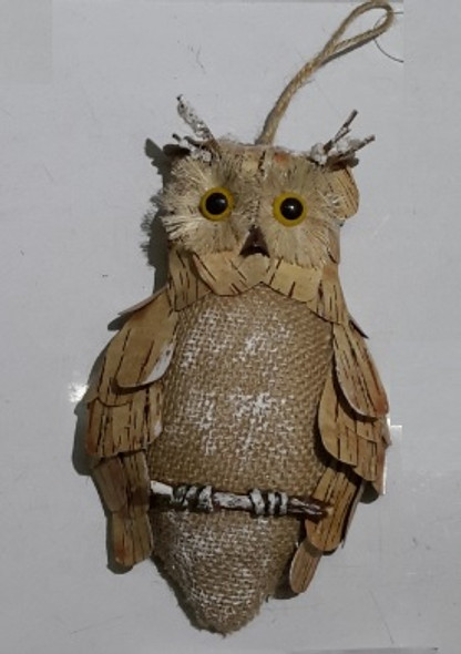 RHM1707-029 Christmas Ornament Hanging Owl