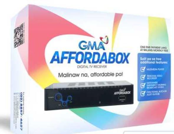 GMA Affordabox Digital TV Receiver TV Box