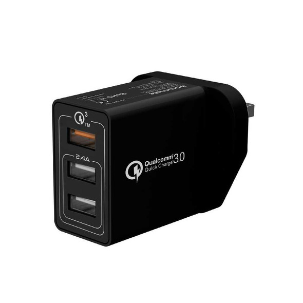 PROMATE TRIPORT-QC WALL CHARGER