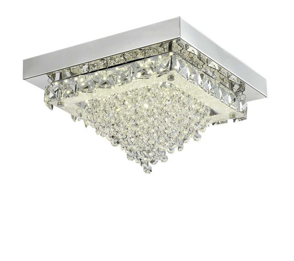 ALFONSO CRYSTAL LOW CEILING LAMP SQUARE