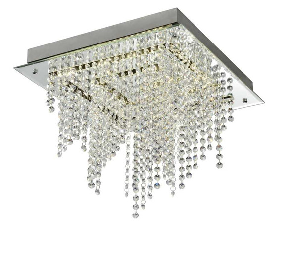 BARBRO CRYSTAL LOW CEILING LAMP SQUARE