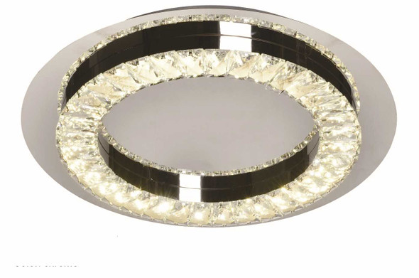 BERIT CRYSTAL LOW CEILING LAMP ROUND