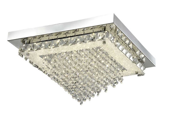 ELIAS CRYSTAL LOW CEILING LAMP SQUARE
