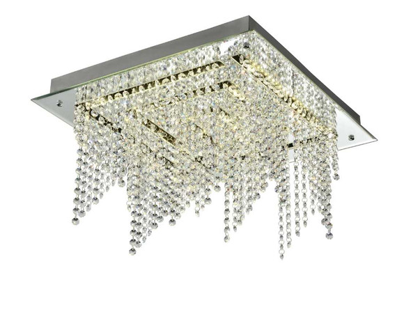 JERKER CRYSTAL LOW CEILING LAMP SQUARE