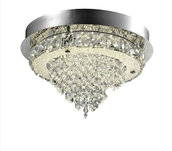 JONNA CRYSTAL LOW CEILING LAMP ROUND