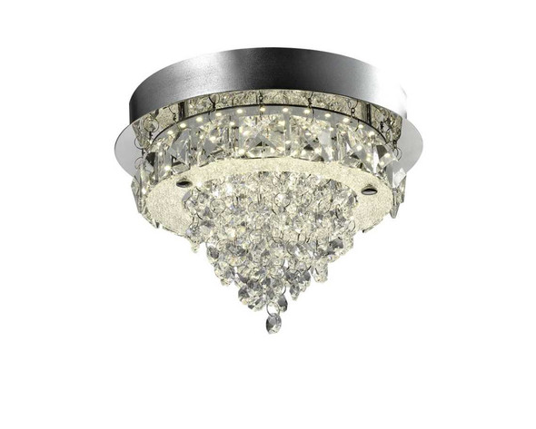 SASSA CRYSTAL LOW CEILING LAMP ROUND