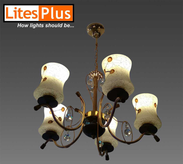 IA-8059-5  BEST SELLER CHANDELIER