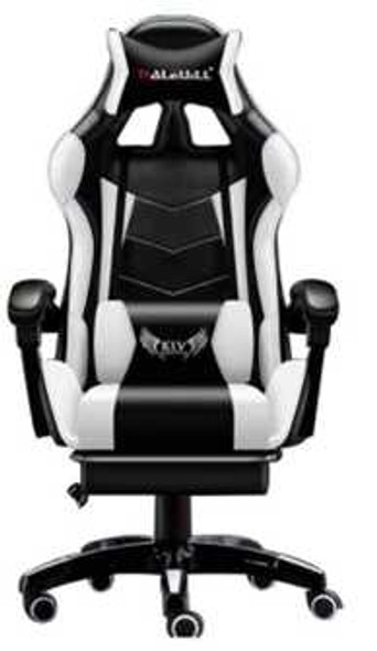 ULRICH GAMING CHAIR WITH HEADREST AND BACK MASSAGER