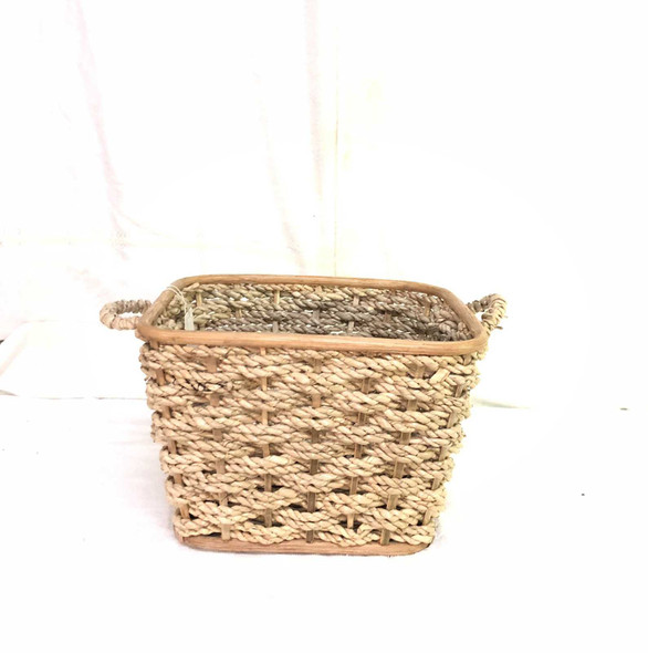N203 RATTAN SQUARE BASKET