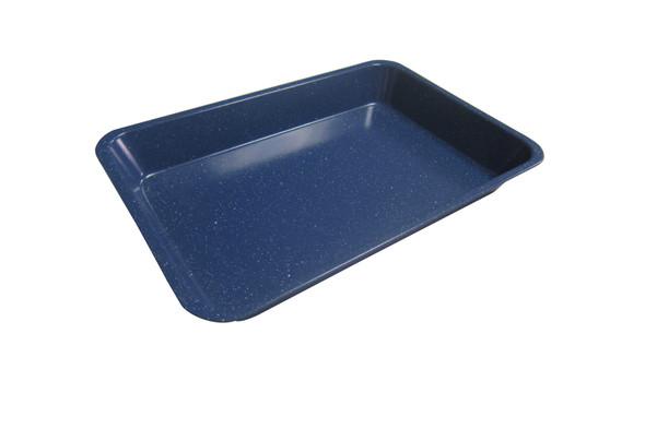 SLV2005 RECTANGULAR PAN MARBLE COATING BLUE SERIES