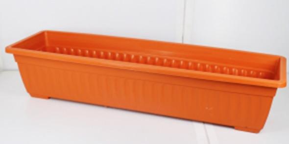 RP8006 TERRA COTTA RECTANGULAR PLASTIC PLANTER