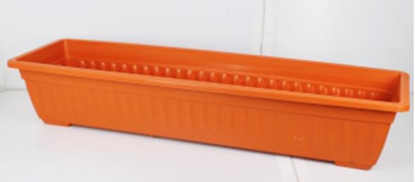 RP8007 TERRA COTTA RECTANGULAR PLASTIC PLANTER