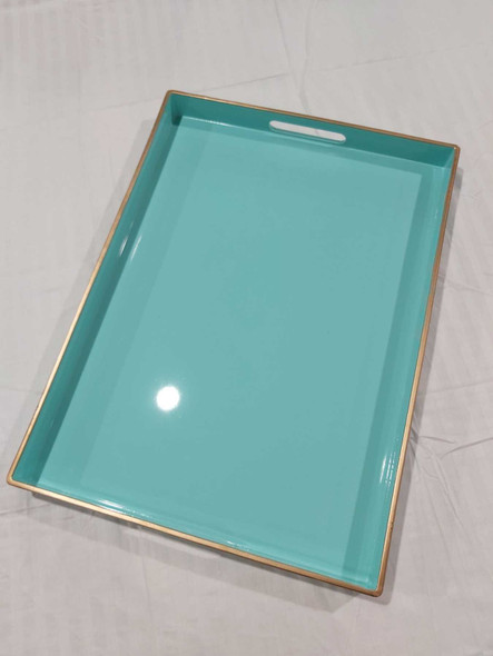 A2131  Pastel Green Serving Tray 48X35X4cm