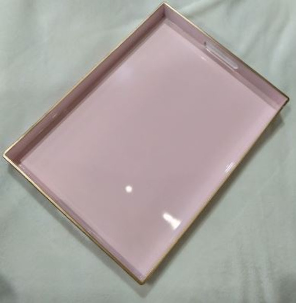 A2135 Pastel Pink Serving Tray 48x35x4cm