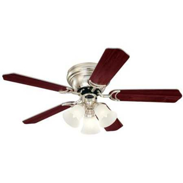 "5NH42BNF CEILING FAN CONTEMPRA TRIO 5BLADE 42"" BRUSHED NICKEL"