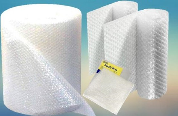 PLASTIC BUBBLE WRAP 1X5M ROLL