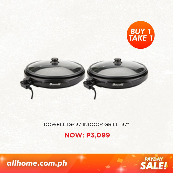 DOWELL Indoor Grill IG-137 BUY 1 TAKE 1