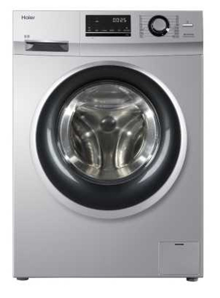 HAIER HW100-BP12636S FRONTLOAD WASHING MACHINE 10KG INVERTER with FREE GARMENT STEAMER