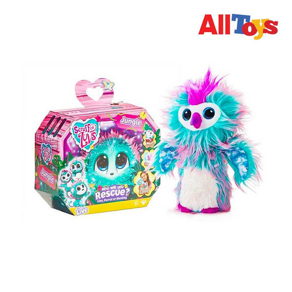 AllToys - Little Live Scruff-a-Luvs - Jungle - Plush Mystery Rescue Pet