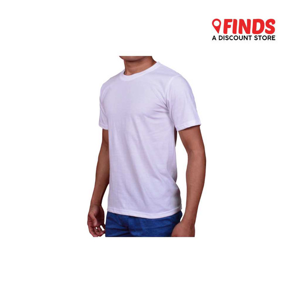 Finds - White Round Neck T-Shirt 3602