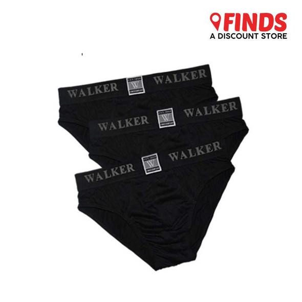 Finds - Walker 7802-3 Kinetic Men's High Cut Brief Tripack / 3in1 Pack